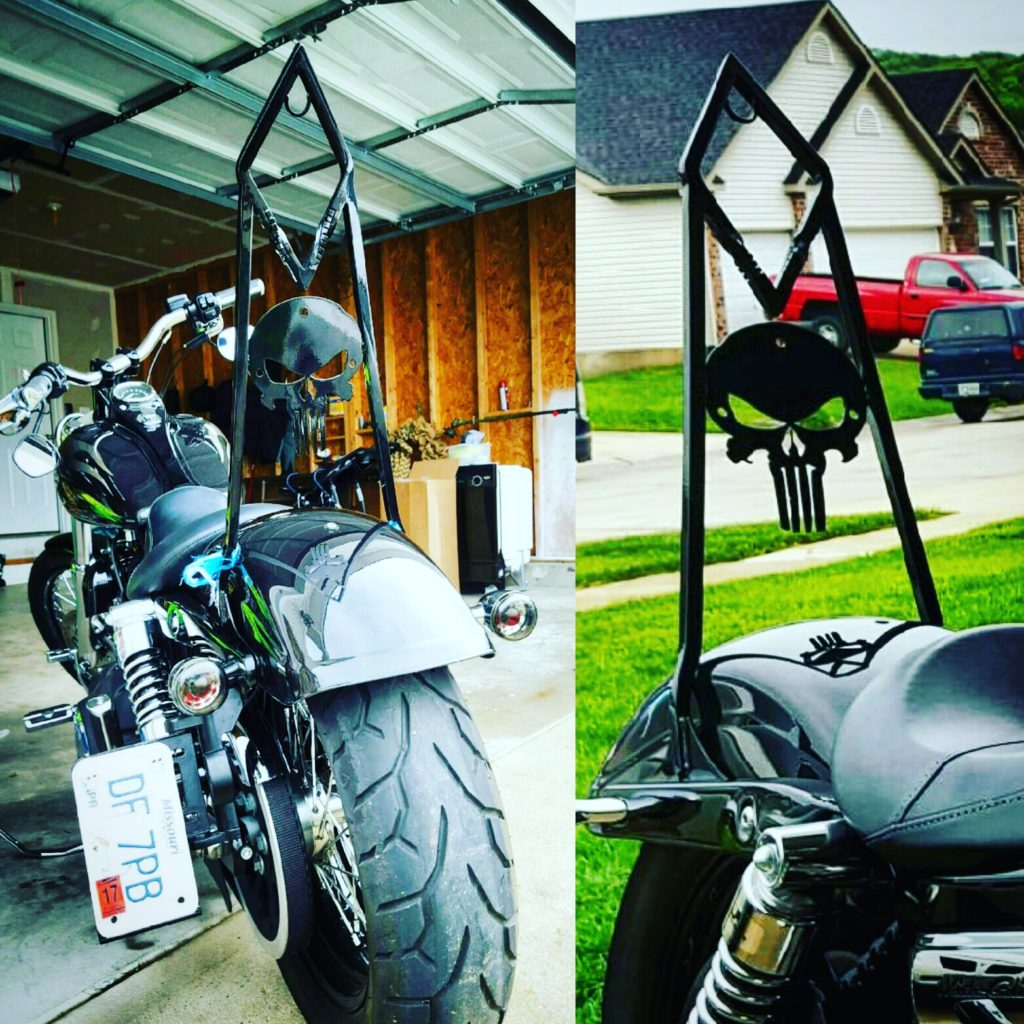 custom sissy bar